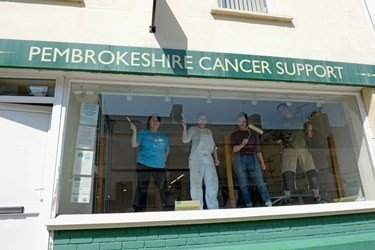 Pembrokeshire Cancer Support benefits from Port's year of fundraising