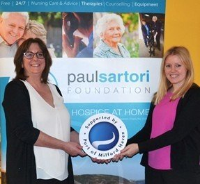 Paul Sartori Foundation named Port's Charitable Cause of the Year