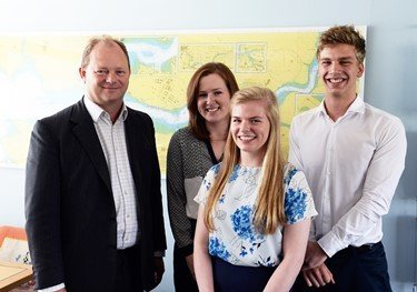 Scholarship students complete work placements at Wales' largest port
