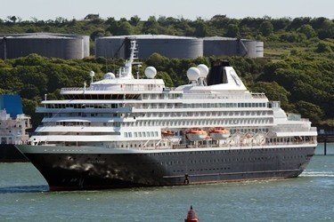Cruise vessel MS Prinsendam to call at Milford Haven this weekend