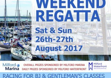 Full schedule planned for Milford Marina Weekend Regatta