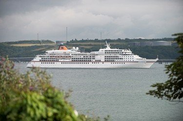 Over one thousand cruise passengers to call at Milford Haven in September