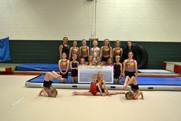 Fast Track for Milford Haven Gymnastics Club