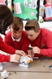 Milford Haven pupils are gearing up for the future