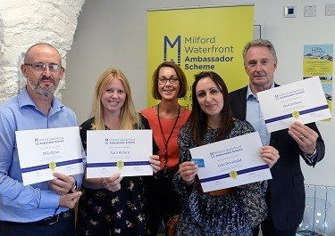 Milford Waterfront Ambassadors embrace 'Croeso' training