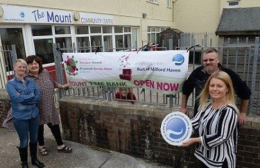 Port of Milford Haven backs Time Banking project for Mount Estate