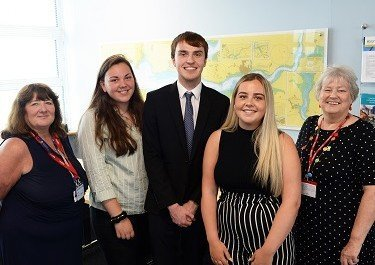 Scholarship students complete placements at Port of Milford Haven