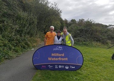 Milford Waterfront's first parkrun kicks off with success