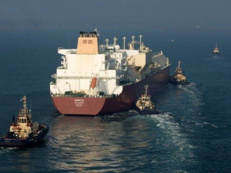 The first LNG carrier 'Tembek'
