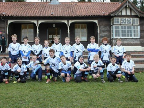 Narberth RFC Under 10s received funding towards a rugby tour to Gloucester in March 2016