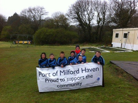 Kilgetty AFC held a children's football tournament, sponsored by the Port of Milford Haven