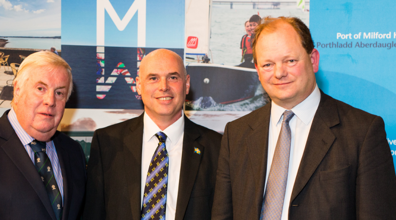 Pembrokeshire County Council's Deputy Leader Cllr Keith Lewis and Assembly Member for Preseli Pembrokeshire Paul Davies spoke in support of the Port's plans and highlighted the potential of the Milford Haven Waterway to make a significant contribution to
