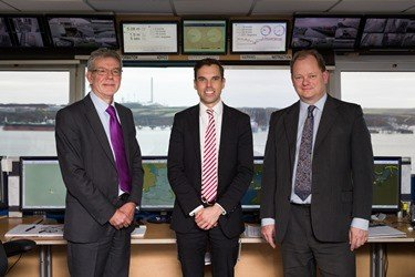 Cabinet Secretary for the Economy and Infrastructure, Ken Skates, was shown around Milford Haven's Port Control where thousands of shipping movements are safely coordinated each year.