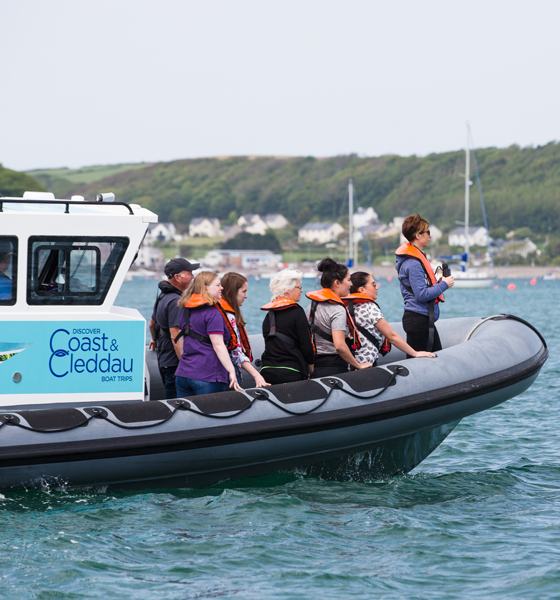 Boat trips are helping people discover the Milford Haven Waterway