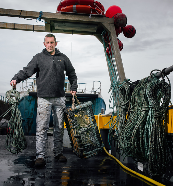 Milford Fish Docks is Wales' largest fishing port