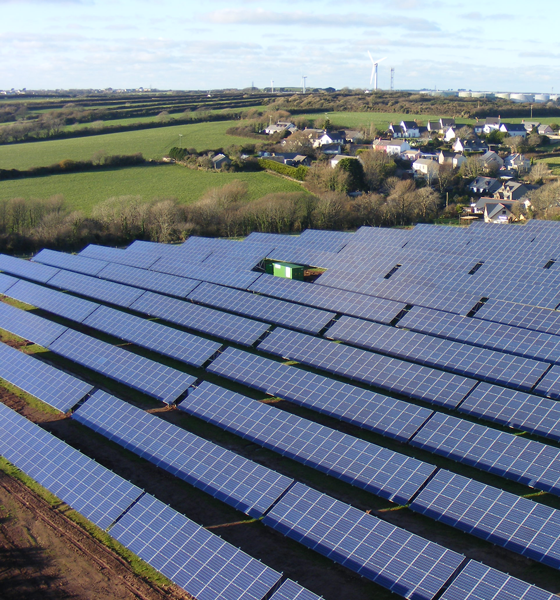 Liddeston Ridge solar array