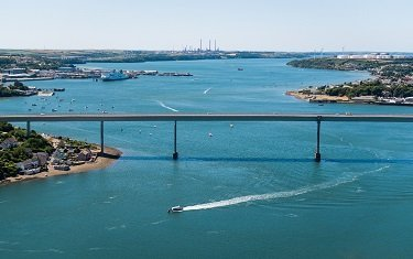The Milford Haven Waterway supports a wide range of industries