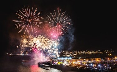 Milford Haven Round Table's firework display will be the grand finale of half term activities at Milford Waterfront
